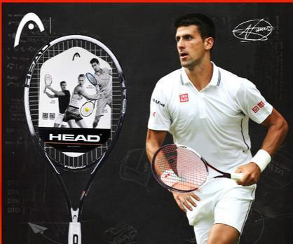Baş Tenis Raket Yetişkinler Profesyonel Spor Raket de tenis Karbon alüminyum Fiber Dize Çanta Ile Acemi Için Overgrip