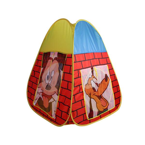 Play House Kids Gifts Tiendas de juguetes al aire libre Tienda de campaña plegable Tienda de niños Tienda de juguetes para niños Piscina de bolas Piscina de bolas de Castle Pool