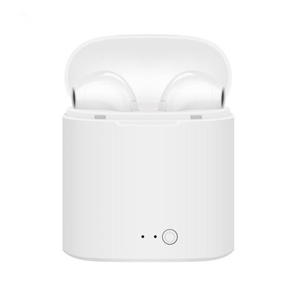Wireless Bluetooth Earbuds i7s TWS Earphones Twins Earpieces Stereo Headset Casque Sans Sport Charger Box Headphones