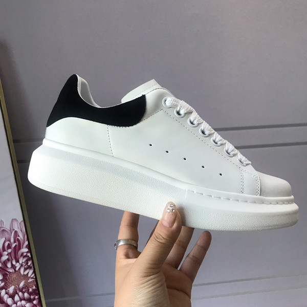 Fashion Luxury Designer Women Shoes Casual Shoe Top Quality Real Leather Sneakers Chaussures Shoes Grey Velvet Sports Sneakers 36-46