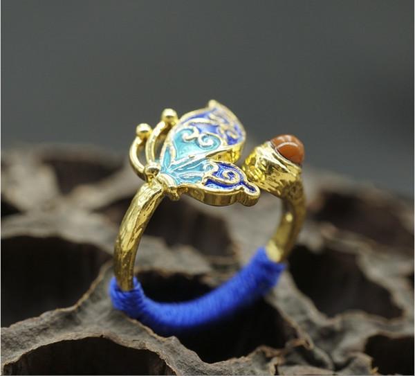 Anel azul tailandês da paisagem chinesa