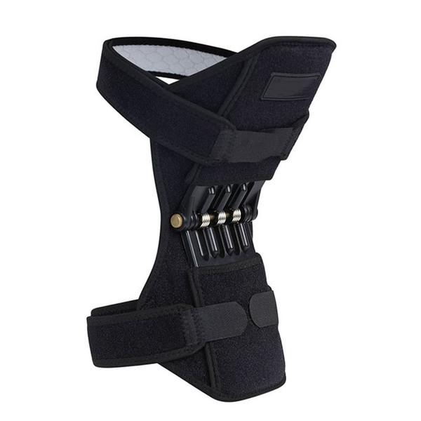 Дышащий нескользящей лифт сустав поддержка наколенники мощный отскок пружины силы колено