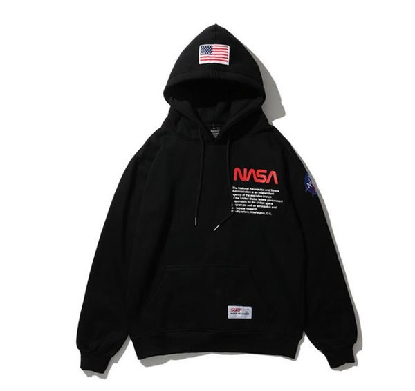 Acheter 2019 New NASA À Capuche Hip Hop Rue Sport Designer Hommes Hoodies Loose Fit Héron Preston Pull Sweat De $27.42 Du Mnkop2018 | DHgate.Com
