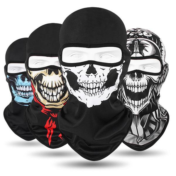 Festival Skull Horror Masks Skeleton Magic Bandana Bicycle Ski Full Face Scarf Cycling Helmet Neck Ghost Halloween Game