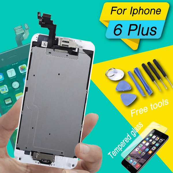 lcd screen for iphone 6 plus display screen full set for iphone 6 6s 6sp 6 plus lcd complete with home button and camera