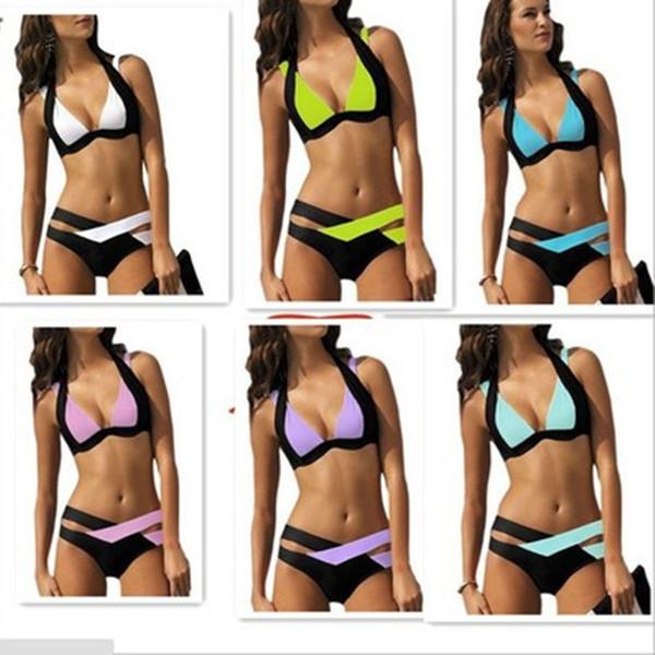Yeni Toptan Yeni Mayo Seksi Sıcak Erotik Mikro Bikini Set Stripper Plaj Kadınlar Mayo Mayo Brezilya Vintage Biquini Giymek