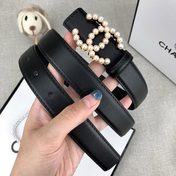 Cinture di lusso alla moda signore nuove lettere di estate fibbia moda casual accessori per abbigliamento di alta qualità