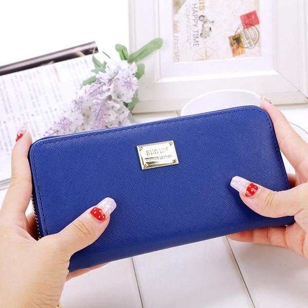 Womens Purses And Wallets Phone Bag Card Holder Wristlet Wallet Long Purse Female Handbags Coin Pocket Money Bags Wallets