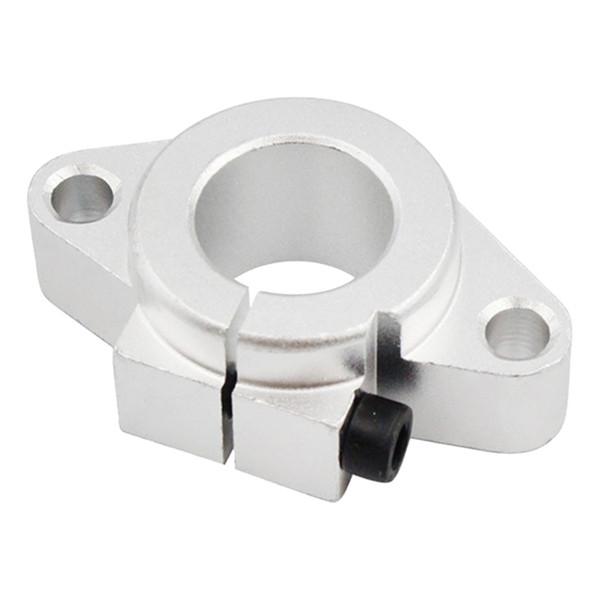Deslizamento profissional Suporte de Eixo Fixo Linear Substituição Rolamento de Esferas Peças Guia de trilho Cromado Durável Para Impressora 3D