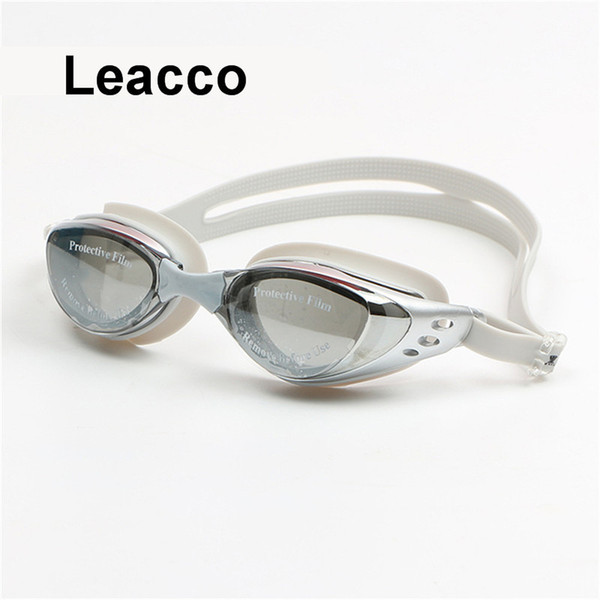 best selling Adult Prescription Optical Swimming Goggles Swim Silicone Coated Water Diopter Swimming Eyewear Glasses Mask