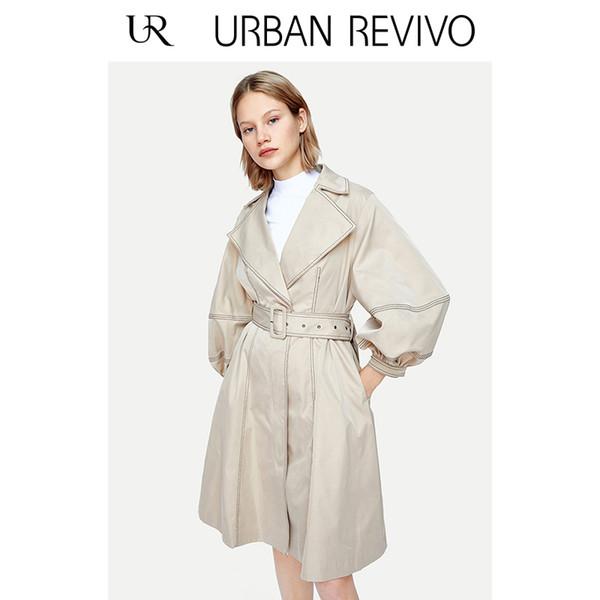 UR 2019 Bahar Yeni Bayan Puf kollu yakalı ceketWE05S1LE2000