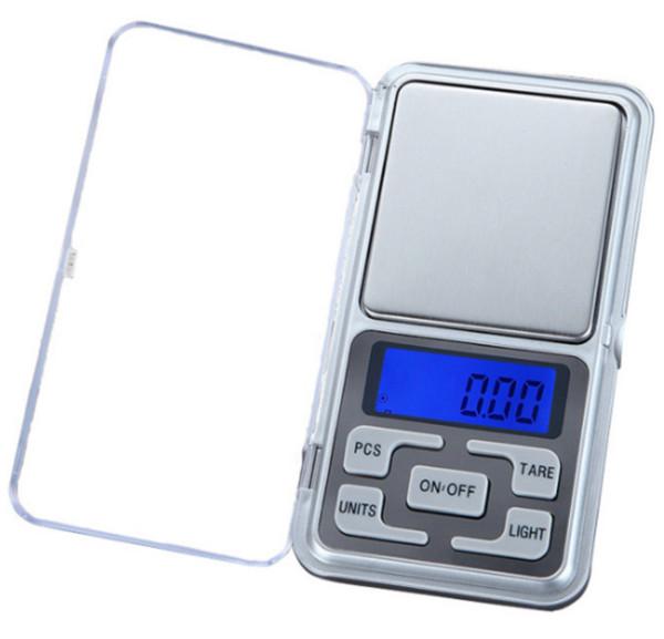 Mini Elektronische Taschenwaage 200g 0,01g Schmuck Diamantwaage Waage LCD Display mit Kleinpaket Freies Verschiffen