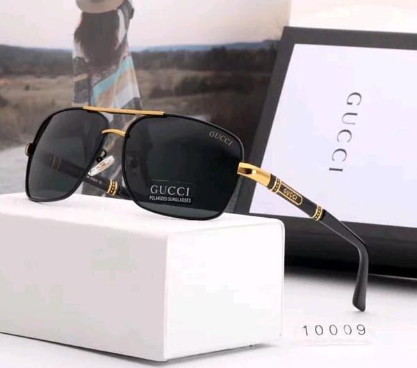 erkekler için yeni yüksek kaliteli marka tasarımcı moda açık güneş gözlüğü high-end marka güneş gözlüğü iş adamları güneş gözlüğü ücretsiz teslimat kutusu