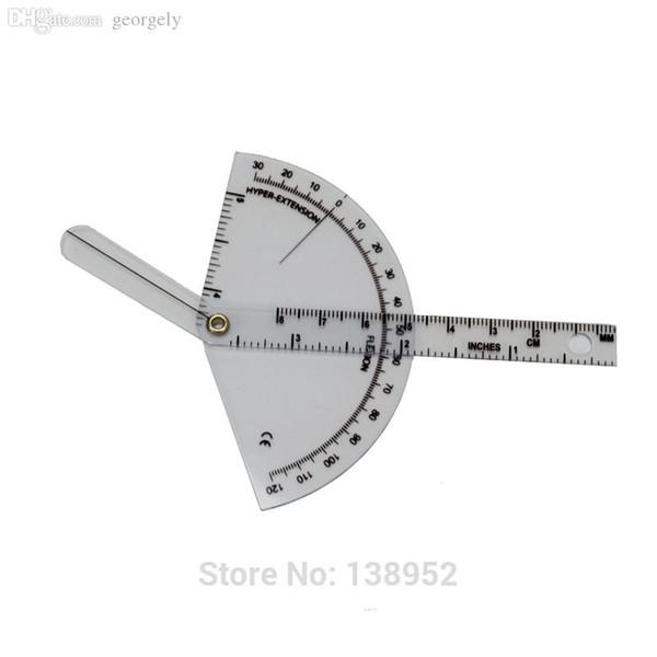 top popular Wholesale-Finger goniometer finger ruler finger measure finger protractor Medical ruler, 10pcs lot 2021