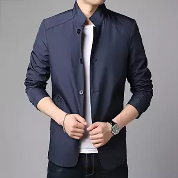 2019 Hommes Printemps Eté Zipper Thin Vestes et Manteaux Jaqueta Masculina Homme Casual Mode Slim Vestes Ajustées Outwear Hommes