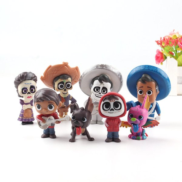 Compre Anime Film Coco Miguel Hector Ernesto Imelda Alebrije Dante Figura De Accion De Juguete Set 5 5 9cm A 8 9 Del Anitoy Group Dhgate Com