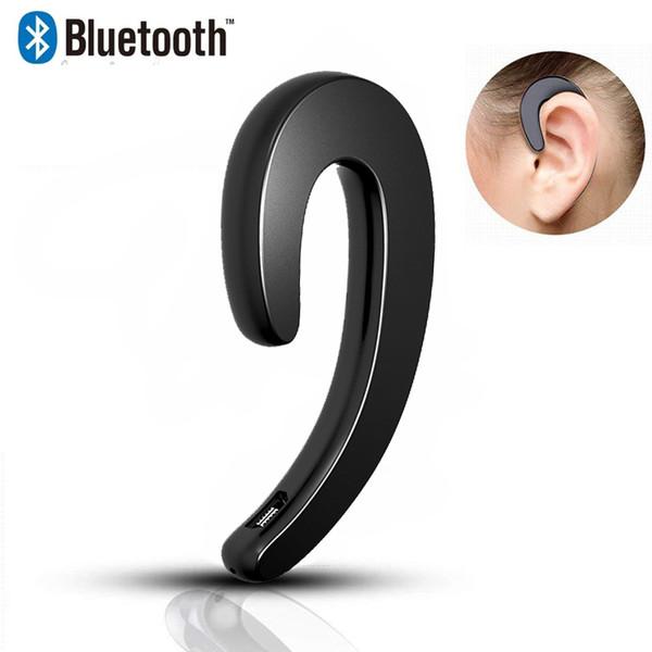 Mini Bluetooth Auriculares Inalámbricos Estéreo Ear Hook Auriculares S103 Sweatproof Deportes Conducto Óseo Auriculares Para iPhone Samsung