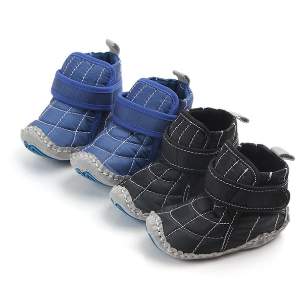 Hot Baby Babies Fashionable Crochet Knit Fleece Shoes for Toddlers for Girls and Boys Wool Snow Crib Shoes Warm Winter Booties First Walkers