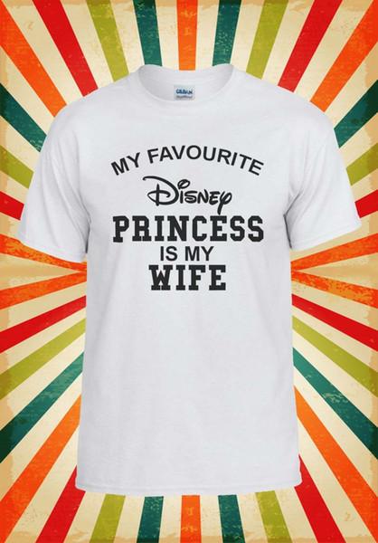 Моя Любимая Принцесса Моя Жена Мужчины Женщины Жилет Майка Унисекс Футболка 1670