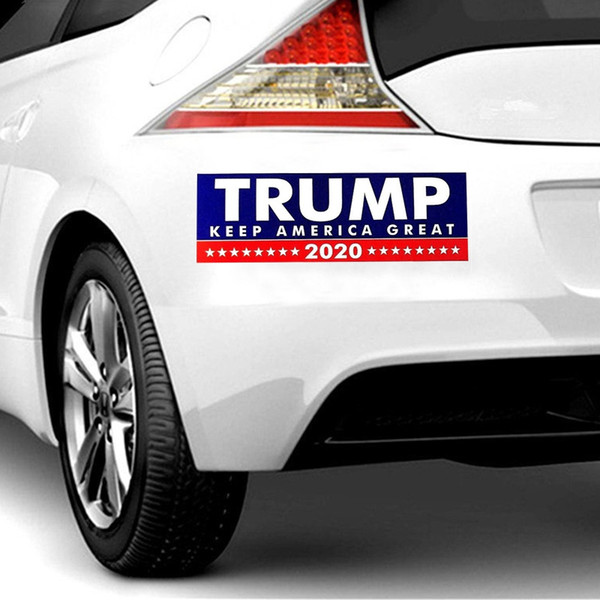 2019 New Style Donald Trump 2020 Car Stickers Bumper Wall Sticker Keep Make America Great Decal For Car Styling Vehicle Paster Hha270 From Mr Cars