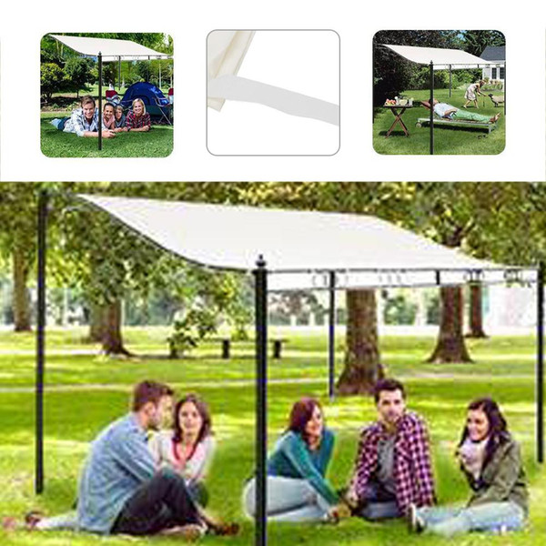300d canvas waterproof tent roof garden winds replacement canopy cover tent cover for outdoor indoor shelter shade thumbnail