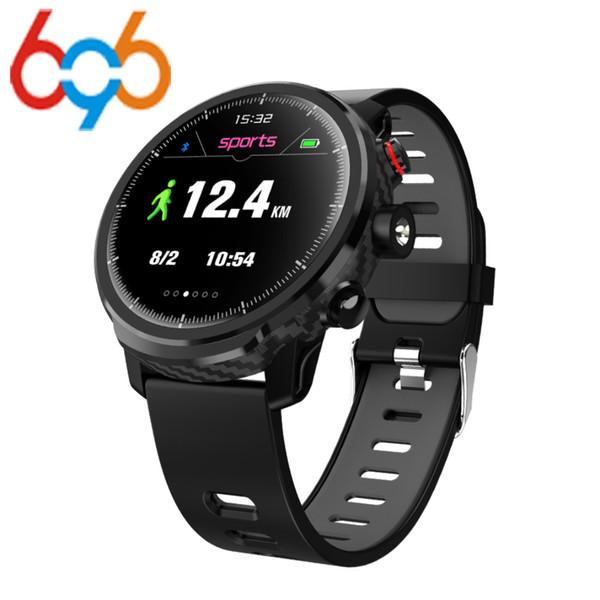 Smart L5 Watch IP68 Водонепроницаемый резервный прогноз погоды Smartwatch мужчины несколько спортивный режим мониторинг сердечного ритма