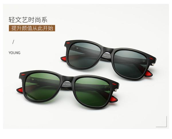 quality Glass lens Men Women Pilot Fashion Sunglasses UV Protection Brand Designer Vintage Sport Sun glasses With box and sticker