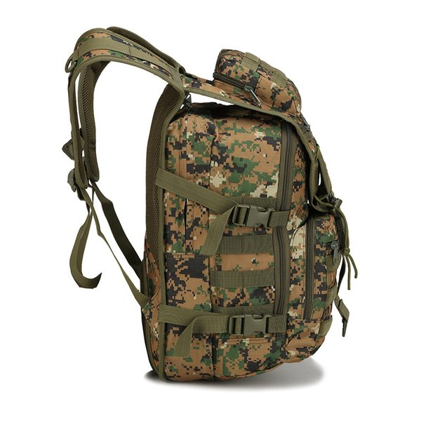 40L Multi function Outdoor camouflage Tactial backpack Army fan tactical backpack 3P mountaineering bag hiking camping Travel military bags