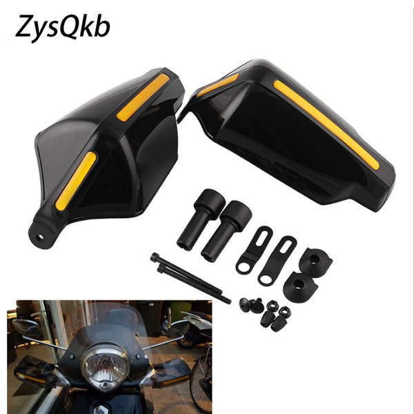 Motorcycle Hand Guard Handle Protector Shield Motorbike Motocross Scooter Windproof Handlebar HandGuards Protection Gear