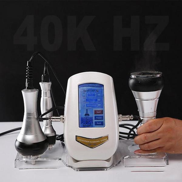 Máquina ultra-sônica da cavitação 40K Cavitificações Máquina de emagrecimento de corpo inteiro Strong Ultra remoção de celulite saúde do corpo 2019