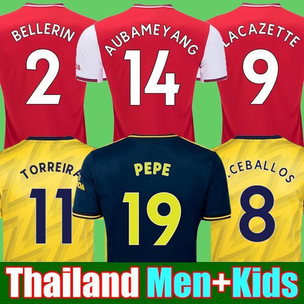 MEN + kids sets uniform 2019 2020 football kits aRSeN soccer jersey 19 20 TIERNEY Camisetas de futbol football shirt soccer top
