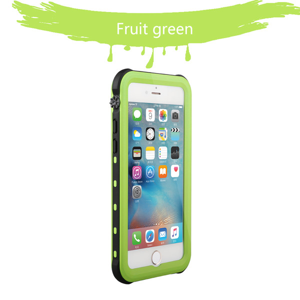 Full Cover PC+TPU Clear Waterproof Phone Case for iphoneXR XSMAX .Dirt-resistant Shockproof case outdoor exercise protector hot selling