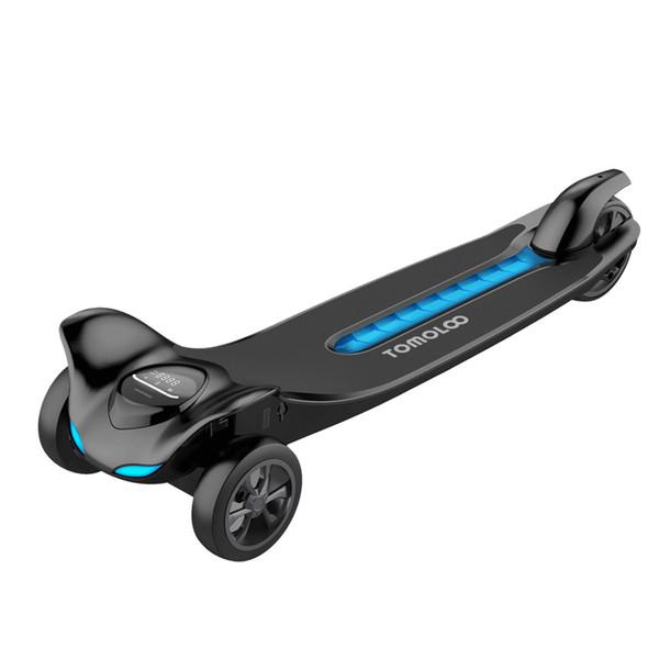 Bluetooth Tekerlekler ile 3 Tekerlekler Hoverboard LED Işıkları Kendini Dengeleme Scooter UL2272 Sertifikalı Çocuklar ve Yetişkin için 6.5 inç