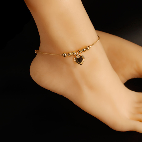 Fashiion halhal alaşım kalp kolye boncuk charm altın gümüş renk kaplama ile yılan zincir kadın kız hediye