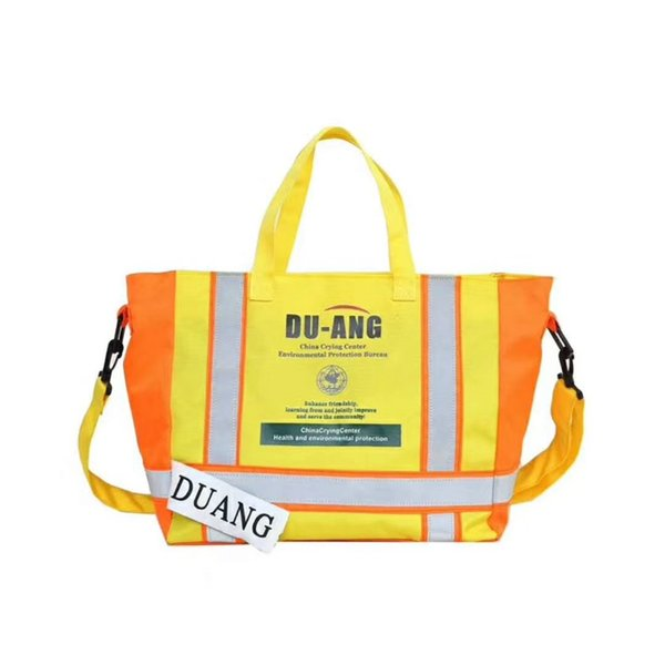 2019SS 3M Reflective DU ANG Bag Fire Bag Streetwear Hip Hop Handbags Street Fashion Shoulder Pack Kanye West Hip DU ANG Package