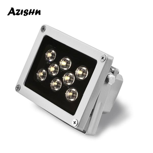 Cheap Accessori CCTV LED 8pcs array di LED CCTV Fill luce illuminatore IR lampada a raggi infrarossi di visione notturna impermeabile esterna per