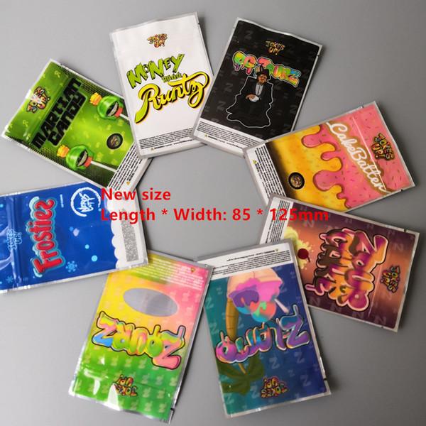 best selling New size 85x125cm Jokesup Shark Cake BAG 3.5g Money bag Runtz Frosties ZOURZ Smell Proof Bags Vape Packaging for 16 TYPES bag