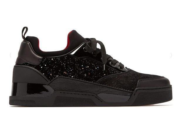 Schuhe Sneakers Großhandel Männer Italien Glitzerten Und Casual Sportschuhe Flache Designer Mid Aus Rote Aurelien Wildleder Turnschuhe Cut Samt Untere wP8kXOn0