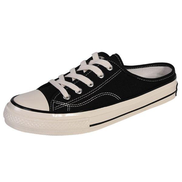 Chaussures de toile de mode pour hommes et femmes pantoufles de toile paresseuses classiques pour aider les chaussures décontractées low-top chaussures de skate de fête hip-hop