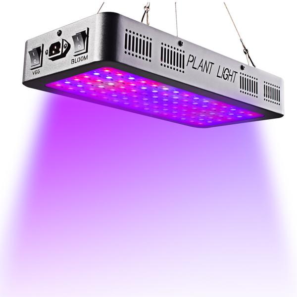 600 W 900 W 1200 W Full Spectrum Interruptor Duplo LEVOU crescer luz com Veg Bloom modos para Estufa interior crescer plantas tenda crescer luz led