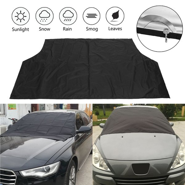 best selling 245*145cm Car Magnet Windshield Windscreen Cover Ice Snow Protector Sunshade Covers Waterproof Dustproof