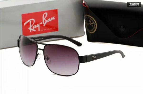 Мужские женские солнцезащитные очки Марка Зеркало Солнцезащитные очки Женские очки Золотая рамка Круглая Розовое Солнце Стекло Поляризованная Женщина