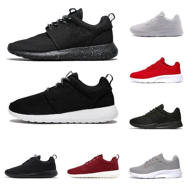 Compre Nike Roshe One Tanjun Run Zapatos Para Correr Para Hombres, Mujeres, Corredores, Triple, Blanco, Transpirable, Para Hombre, Entrenador,