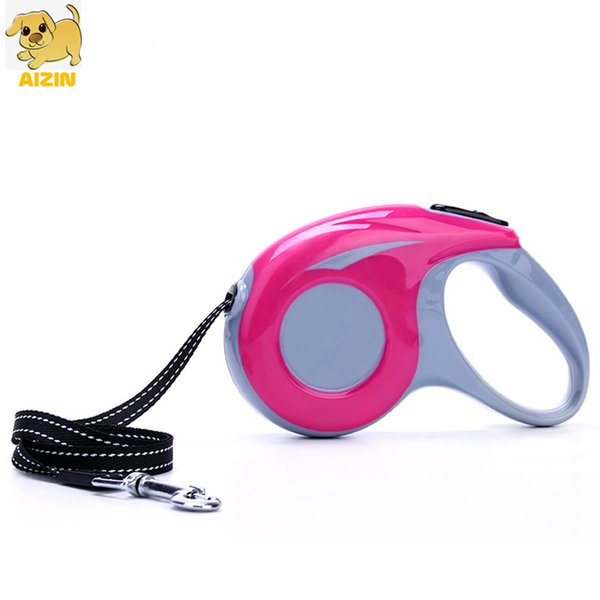 pet dog retractable leashes automatic flexible puppy cat strong nylon rope collar leads 3m for small medium dogs pet supplier