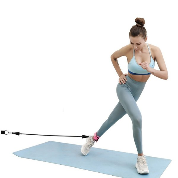 Pull Rope Accessories Kit Leg Hip Training Stretch Belt Foot Ring Ankle Strap Set Fitness Equipment Sports Protective Gear