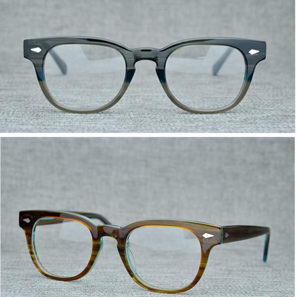 Brand Women Eyeglasses Frames Optical Glasses Frames New York Men Eyewear Tummel Spectacle Frames for Prescription Glass with Glasses Box