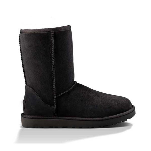 A10 Klasik kısa Boot - Siyah