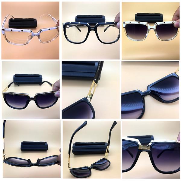 Vintage Gazelle Sunglasses Brand Designer Oversized Black Sun glasses Brand Name Eyewear Top Quality Active Spectacles Lunettes de soleil