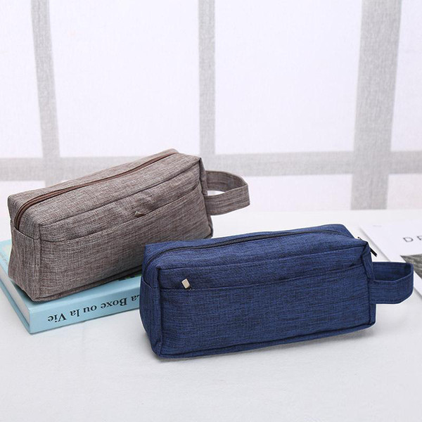 best selling Old Cobbler direct deal Customized logo Cosmetic Bag Washed cloth Outdoor sport Zipper handbag fashion Storage bag wholesale Wash bag