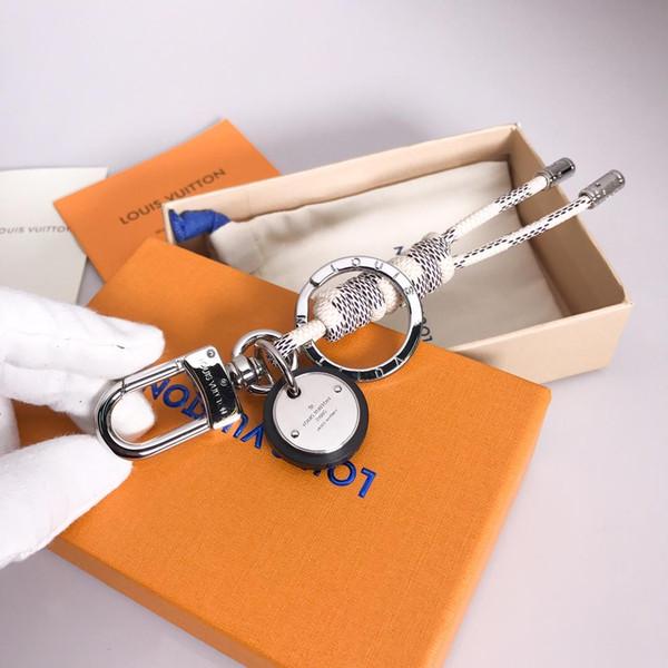 Designer Mode berühmte Marke handgemachte Auto Designer Schlüsselbund Frauen Tasche Charme Anhänger Zubehör mit Box